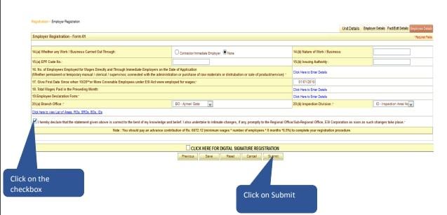 Employer Registration