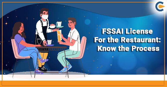 FSSAI License For the Restaurant
