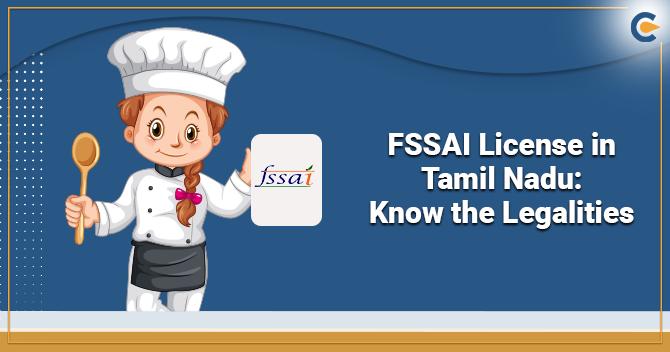 FSSAI License in Tamil Nadu