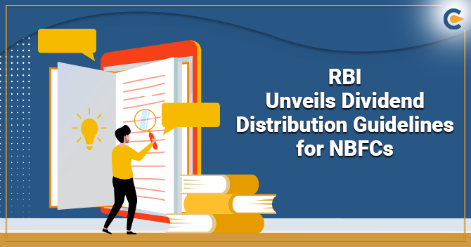 RBI Unveils Dividend Distribution Guidelines for NBFCs