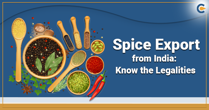 Spice Export from India