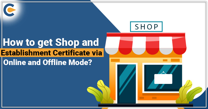 Shop and Establishment Certificate
